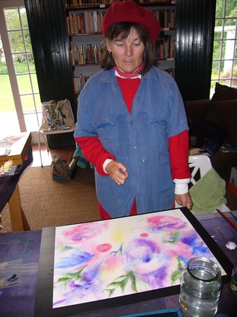 Freedom and Delight of watercolour in action