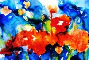 Poppy Pods (Floral Splashes) for Marion