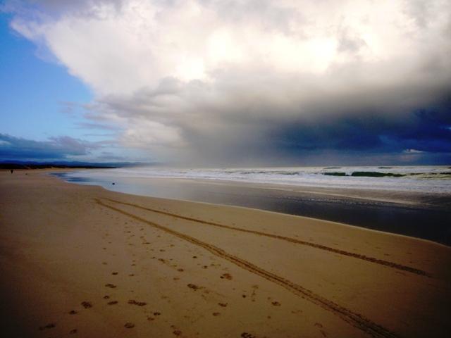 My Walk by Joy Truscott Inspired by a walk on the beach in Jeffrey's Bay, South Africa