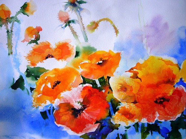 Poppies in Memory
