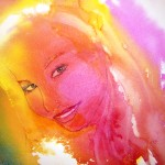 Wendy created this beautiful painting using the  technique demonstrated  (2)