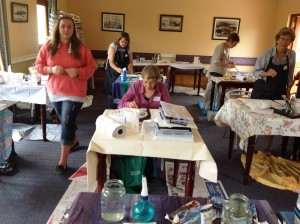 Art Workshop Country Crescent Hotel Nov 2013 - Joy Truscott (2)