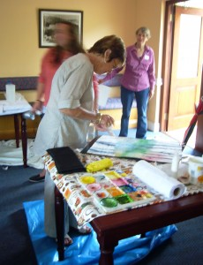 Art Workshop Country Crescent Hotel Nov 2013 - Joy Truscott8