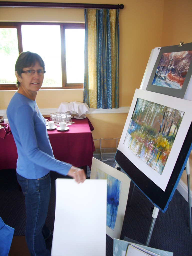 Art Workshop Country Crescent Hotel Nov 2013 - Sue Barnes - Joy Truscott1
