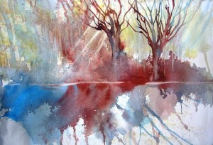 Water Colour Workshop St Francis - Joy Truscott Nov 2013 (103)