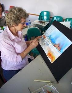 Water Colour Workshop St Francis - Joy Truscott Nov 2013 (106)