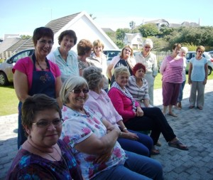 The Lovely Group of Artist at the St Francis Bay Water Colour Workshop - Reflections